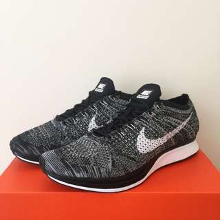 Nike Flyknit Racer(OREO 2.0) 100%NEW US8 全新