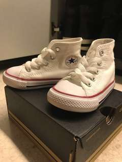 Converse Shoes for infant - Chuck Taylor Classic in White