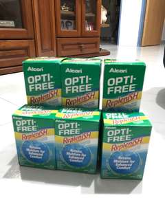 Contact Lens Solution (Brand New)