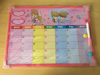 Precious Moments Weekly Planner