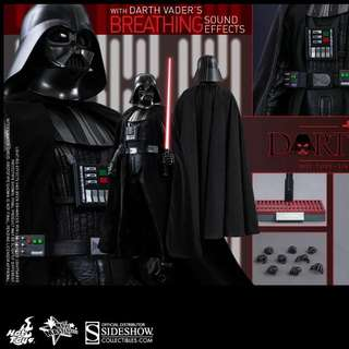 Hottoys 1/6 STAR WARS EP4 DARTH VARDER黑武士 SP
