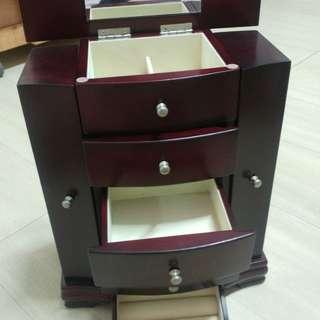 首飾盒 收納盒 木制
