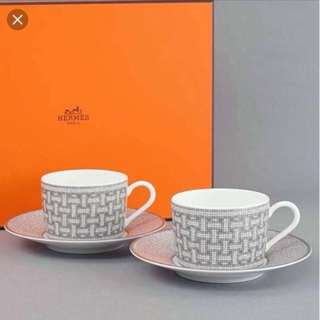 HERMES 愛馬仕茶杯 THE CUP AND SAUCER