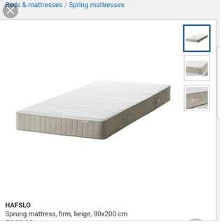 Single sprung mattress ikea