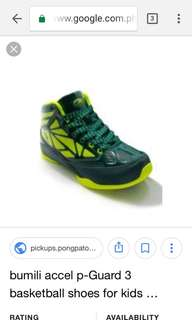 Accel shoes basketball size8