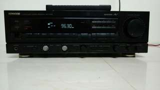KENWOOD KR V7020 Stereo Reciever AMP 收音機綜合 環繞擴大機 日本製造 有遙控器