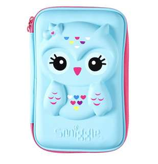 Smiggle Owl Hardtop Pencil Case