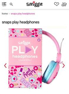 Smiggle Snap headphone