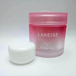 Laneige clear c peeling mask share in jar