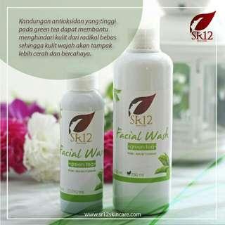 Facial wash green tea