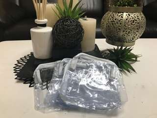 Plastic Pouch with Zipper regular size