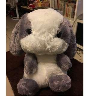 超萌/可愛 毛絨兔子後背包 垂耳兔