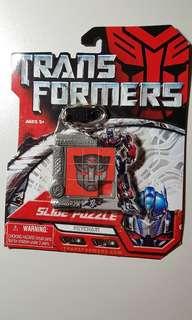 Transformers Slide Puzzle