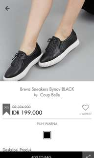 Breva Sneakers Bynov Black by Coup Belle