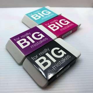 Smiggle Eraser Big Mistakes