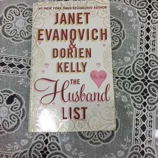 Janet Evanovich 'The Husband List'