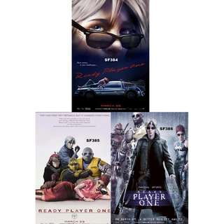 READY PLAYER ONE MOVIE POSTERS (PART 4)