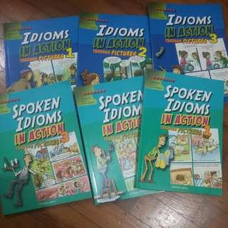 Idioms And Phrasal Verbs Books