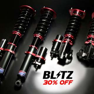 30% off Blitz Coilovers Suspension Kit