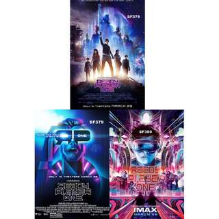 READY PLAYER ONE MOVIE POSTERS (PART 2)