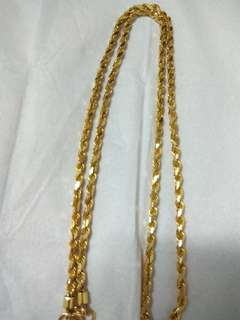 916 22k Gold Necklace/chain