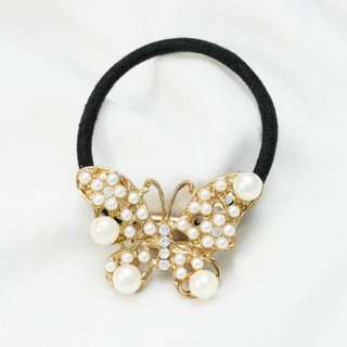 Hairband with butterfly