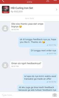 Testimoni another happy customer