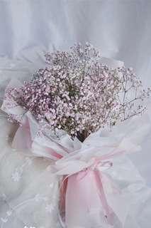 Bouquet of baby breath medium size