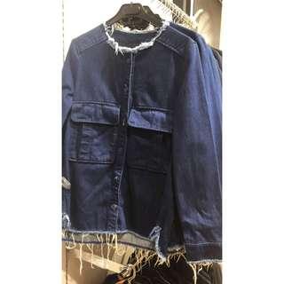 Jaket jeans zara new and ori 100%