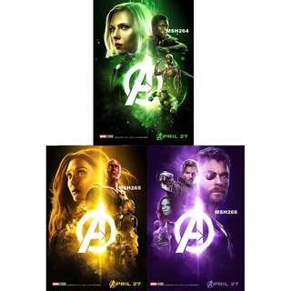 AVENGERS: INFINITY WAR MOVIE POSTERS (PART 2)