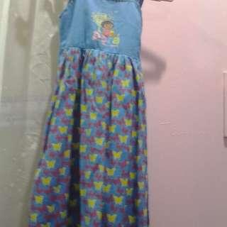 Original Blue Dora the Explorer dress