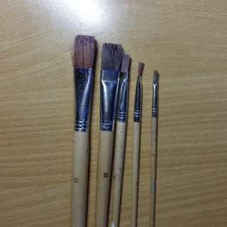 paint brushes from popular