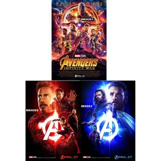 AVENGERS: INFINITY WAR MOVIE POSTERS (PART 1)