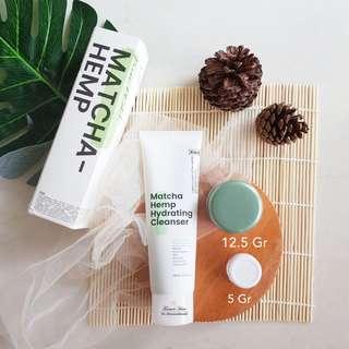 Krave Beauty Matcha Hemp Hydrating Cleanser Share