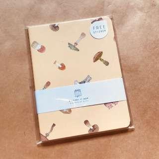 New Mushroom Notebook