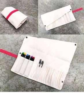 IKEA Delfit Fabric Foldable Pencil Case