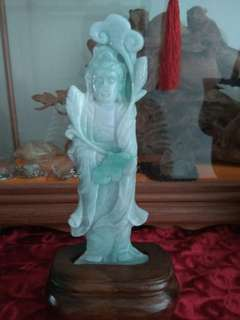 Jade guan yin,crystal ,stone all cheap sales