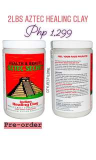 Guaranteed AUTHENTIC and LOW price! AZTEC HEALING CLAY MASK!