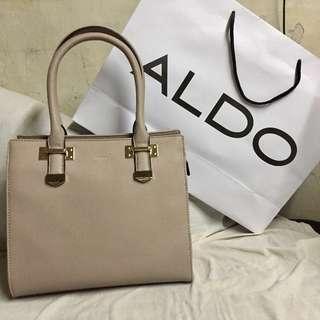 🔴ALDO Taupe Handbag