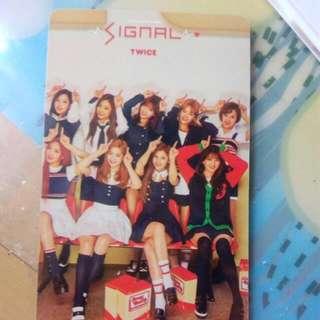 Twice Signal小卡