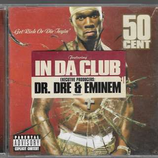 MY PRELOVED EXCELLENT CD - 50CENNTS GET RICH OR DIE TRYING / FREE DELIVERY (F9L)