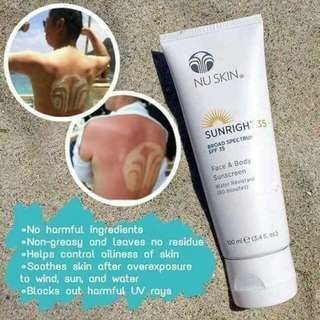 Sunright Broad Spectrum SPF 35