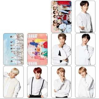 BTS Crystal Card Sticker