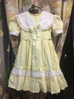 Yellow Doll Dress