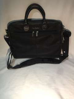 Authentic Pierre Cardin Laptop 2-way Bag