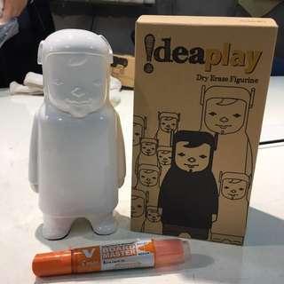 Idea play - dry erase figurine