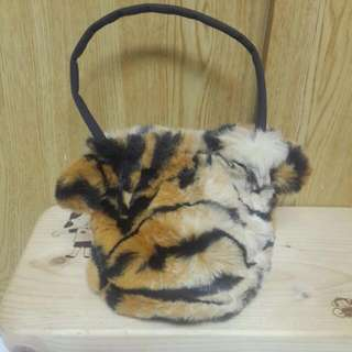 🚚 豹紋手提袋