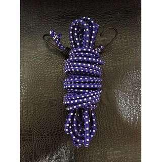 🚚 雙鉤機車繩 捆貨繩 綁貨帶 彈力繩 雙勾 (10尺) 2條