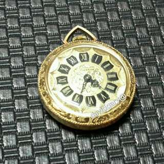 VINTAGE LUCERNE PENDENT WATCH SWISS MANUAL