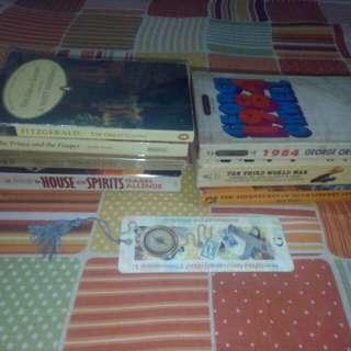 Classic Books - 80 to 150 pesos
